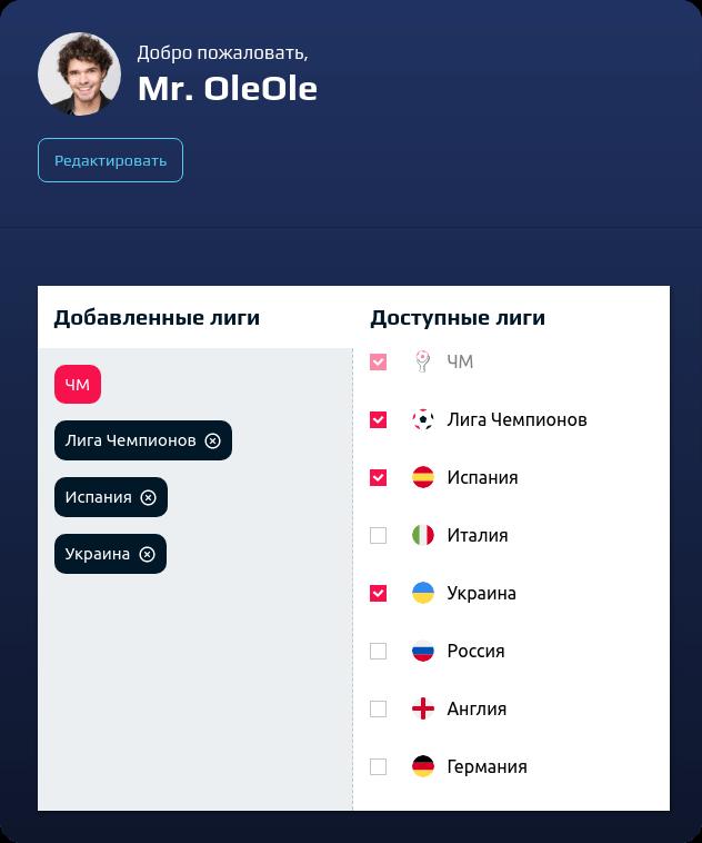 OleOle регистрация
